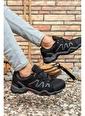 Riccon Siyah Siyah Erkek Trekking Ayakkabı 0012T4000 Siyah